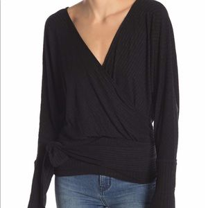 We The Free People East Coast Wrap Top small